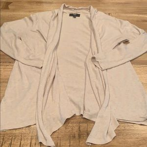 Mossimo Supply Co. Sweaters - Mossimo tan drape front cardigan